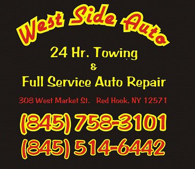 west side auto towing auto tow red hook ny  towing  red hook